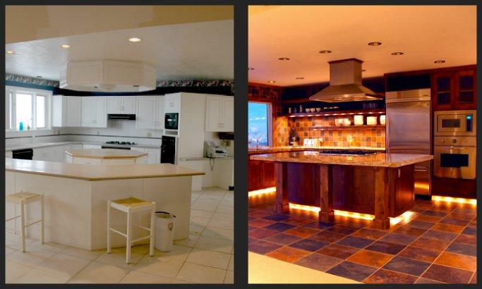 بازسازی خانه قبل و بعد